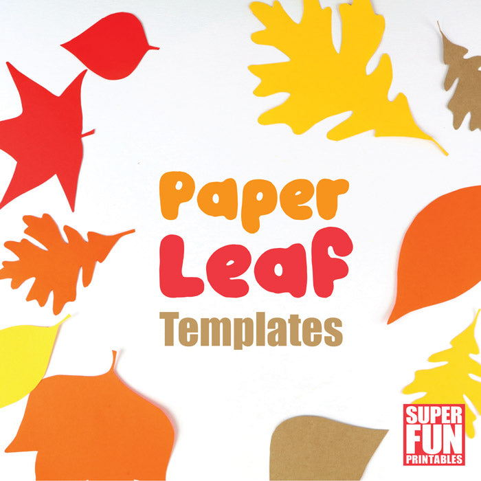 Leaf templates for Autumn or Fall