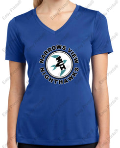 "NVI ""Kind is Cool"" or NVI logo Sport-Tek Ladies Tee"