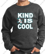 "NVI ""Kind Is Cool"" Core Fleece Crewneck Sweatshirt"