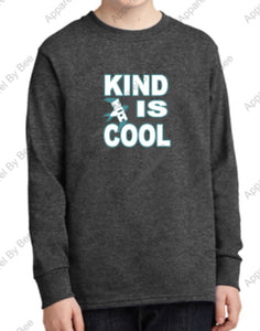 "NVI Youth ""Kind Is Cool"" Long Sleeve T-Shirt"
