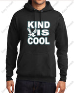 "Evergreen Primary ""Kind Is Cool"" Hooded Sweatshirt"
