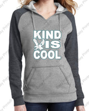 Womens Lightweight Fleece Raglan Hoodie
