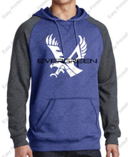 Evergreen Primary District Lightweight Fleece Raglan Hoodie