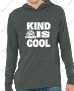 "Birchwood ""Kind is Cool"" Bella + Canvas Unisex Jersey Long Sleeve Hoodie"
