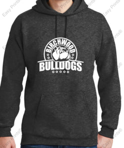 Birchwood Bulldogs Hanes® Ultimate Cotton® - Pullover Hooded Sweatshirt