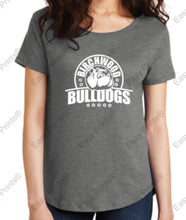 Birchwood Bulldogs Alternative Women's Backstage Vintage 50/50 Tee
