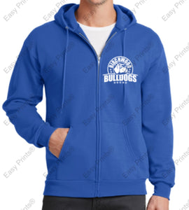 Birchwood Bulldogs Port & Company® - Core Fleece Full-Zip Hooded Sweatshirt