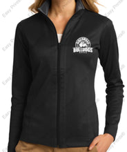 Birchwood Bulldogs Port Authority® Ladies Vertical Texture Full-Zip Jacket