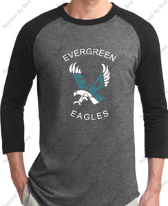 Evergreen Primary 3/4 Sleeve Sport-Tek Tee