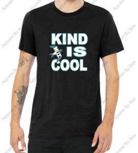"NVI ""Kind Is Cool"" Adult Bella + Canvas Short Sleeve Jersey T"