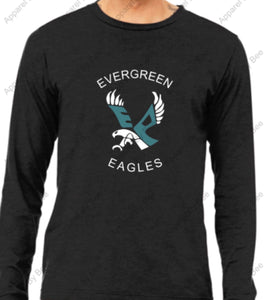 Evergreen Primary Bella + Canvas Unisex Adult Jersey Long Sleeve Tee