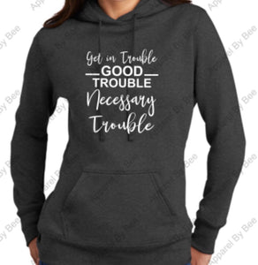 Trouble Ladies Core Fleece Sweatshirt