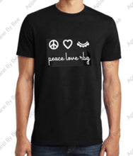 Peace Love RBG District Concert Tee