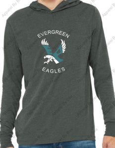Evergreen Primary Bella+Canvas Unisex Jersey Long Sleeve Hoodie