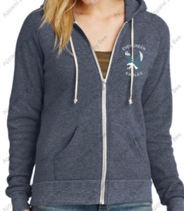 Evergreen Primary Eco-Fleece Zip Hoodie