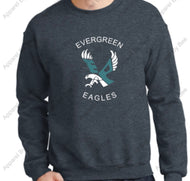 Evergreen Primary Crew Neck Sweatshirt