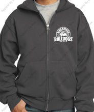 Birchwood Bulldogs Port & Company® - Core Fleece Full-Zip Adult and Youth Hooded Sweatshirt