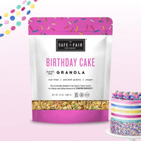 Party Size Birthday Cake Granola