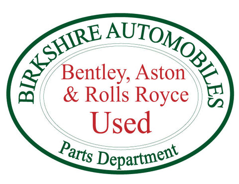 Bentley, Aston & Rolls Royce - Used Parts