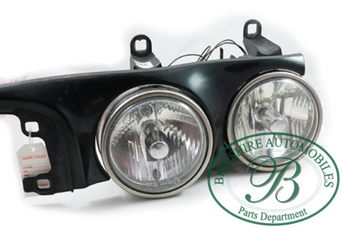 Jaguar Head light assembly Part # LNC4610AB. Fits Jaguar 1999 Vanden Plas
