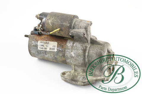 Jaguar starter motor part # C2S47479E. Fits Jaguar X type 2002-2007