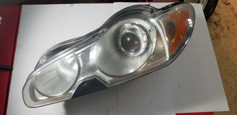 USED LEFT FRONT HID HEADLIGHT FOR JAGUAR PART # C2Z13838. FITS JAGUAR XF 2009-2012.