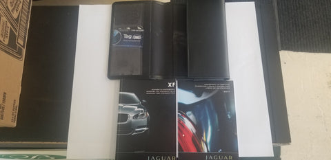 USED OWNERS MANUAL IN FRENCH FOR JAGUAR XF