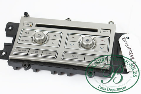 Jaguar  Climate & Entertainment Control Panel  #8X23-18C858. Fits Jaguar XF 2009-2011