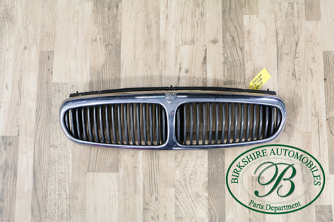 Jaguar X type chrome front grille part # C2S38387. fits 2002-2008 Jaguar X types.