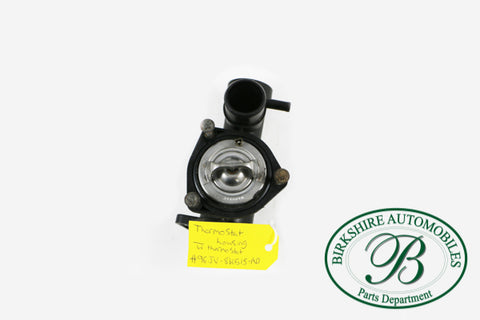 Jaguar Thermostat Housing w/ thermostat Part #AJ8 6484 (Thermostat) #AJ8 2217 (Thermostat Housing) Fits 98-03 VDP\ XJ8\ XJR, 97-02 XK8, 00-02 XKR