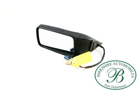 Jaguar left side mirror part #BCC8561. Fits Jaguar XJ6, Jagur Vanden Plas 1989