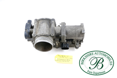USED JAGUAR THROTTLE BODY ASSEMBLY WITH POSITION SENSOR. PART #XR831725