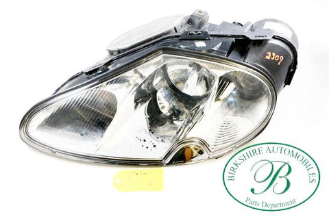 Jaguar Left Head Lamp assembly part # LJA4651 AA. Fits Jaguar XK8 1997-2006