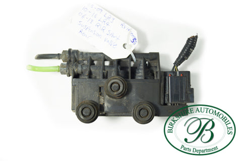 Land Rover Rear Air Supension Valve Block Part # RVH 000055 Fits 05-09 LR3, 10-16 LR4, 06-13 Range Rover Sport