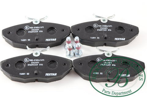 Jaguar OEM Rear Brake Pads # C2C40194. Fits 2000-2005 Jaguar S-type, 2003-2006 Jaguar VDP, 2004-2008 Jaguar XJ8.