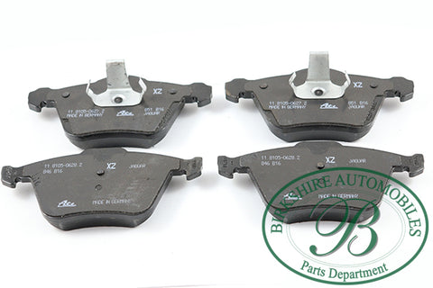 Jaguar Front Brake Pads parts # C2Z14096/ C2C40926/ C2D31788. Fits Jaguar 09-11/16 XF, 06-08 S-type R, 06-09 Super V8, 06-09 XJR, 10-15 XK, 07-09 XKR.