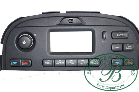 Jaguar climate control unit with display part # . C2S22144.Fits Jaguar S Type 2003-2007