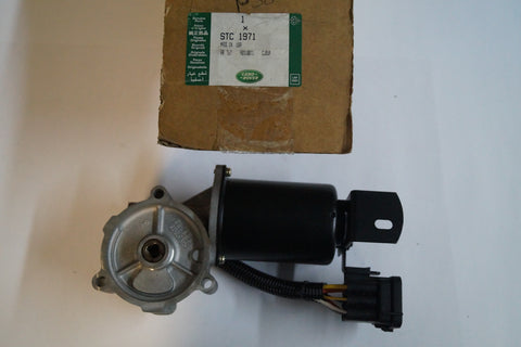 NEW LAND ROVER TRANSFER CASE MOTOR PART # STC1971. FITS RANGE ROVER 2000-2002