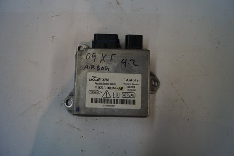 USED JAGUAR XF AIR BAG MODULE PART # C2Z9457. FITS JAGUAR XF 2009