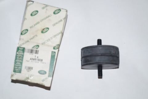 LAND ROVER ENGINE/TRANSMISSION MOUNTING RUBBER PART#ANR1808. FITS LAND ROVER DEFENDER 1986 1996.