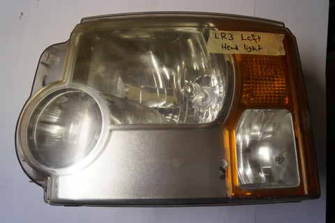 USED LAND ROVER LR3 HEADLIGHTS PART # XBC500372. FITS LAND ROVER LR3 2005-2009