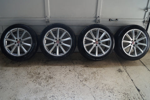 "USED STAGGERED WINTER 19"" WINTER TIRE AND RIM PACKAGE FOR JAGUAR XJ"