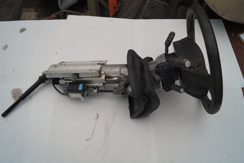 USED RANGE ROVER STEERING COLUMN PART #QMB500202PUY. FITS LANDROVER FREELANDER 2002-2005.