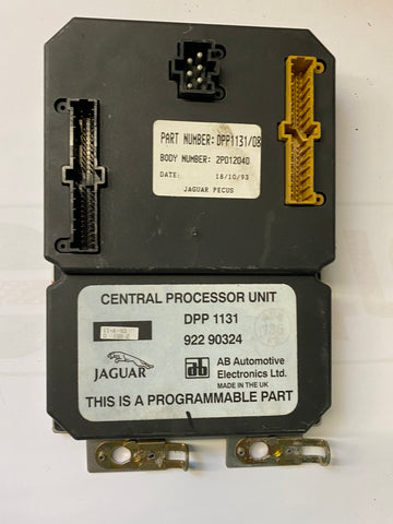 USED JAGUAR CENTRAL PROCESSOR UNIT PART #DPP-1131. FITS JAGUAR XJ6 1993-1994