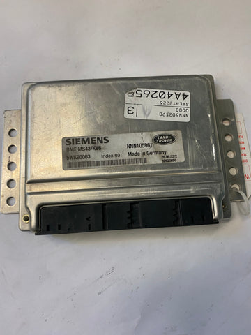 USED ENGINE CONTROL MODULE FOR LAND ROVER PART #NNN105961. FITS LAND ROVER FREELANDER 2002-2005