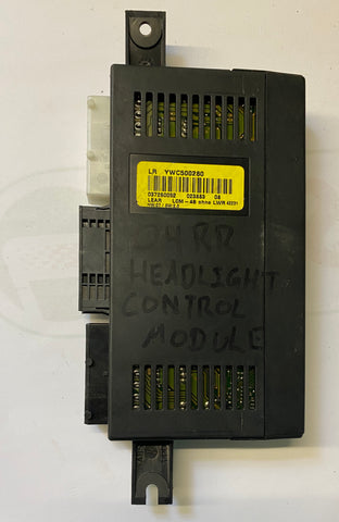 USED LAND ROVER HID HEADLIGHT CONTROL MODULE PART #YWC500280. FITS RANGE ROVER 2004-2005