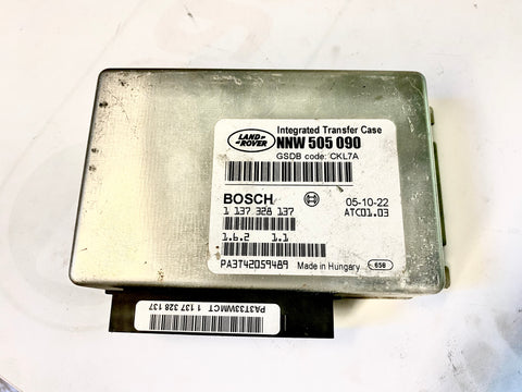 USED LAND ROVER TRANSFER CASE MODULE PART #NNW505090. FITS LAND ROVER LR3 2005-2009