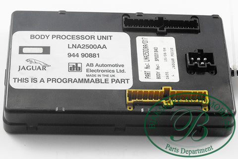 Jaguar Body Processor Unit Part #LNA2500AA Fits 1995-1997 XJ6\ XJR\ VDP