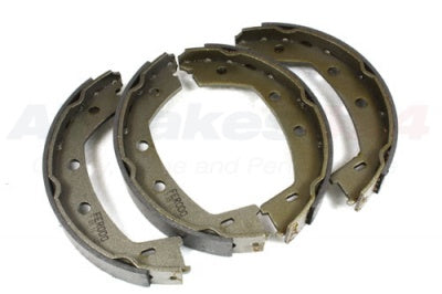 LANDROVER PARKING BRAKE SHOES PART # LR001020. FITS LANDROVER LR2 2008-2012.