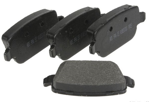 Land Rover rear brake pads part # LR023888. Fits Land Rover LR2 HSE 2008-2011